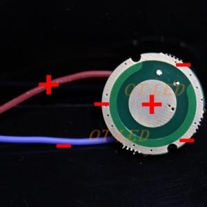 Image 4 - Luminus SST 50 LED Emitter 15W Kalt Weiß 6500K Warmweiß Chip birne diode 20mm kupfer basis + 1 modus SST50 fahrer platine