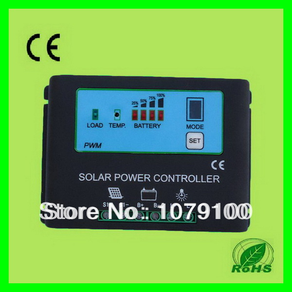 New Style Metal Housing Automatic Identification Power Display 36V 20A solar controller 36v solar controller 12v24v 20a automatic identification manufacturers direct solar street lamp controller