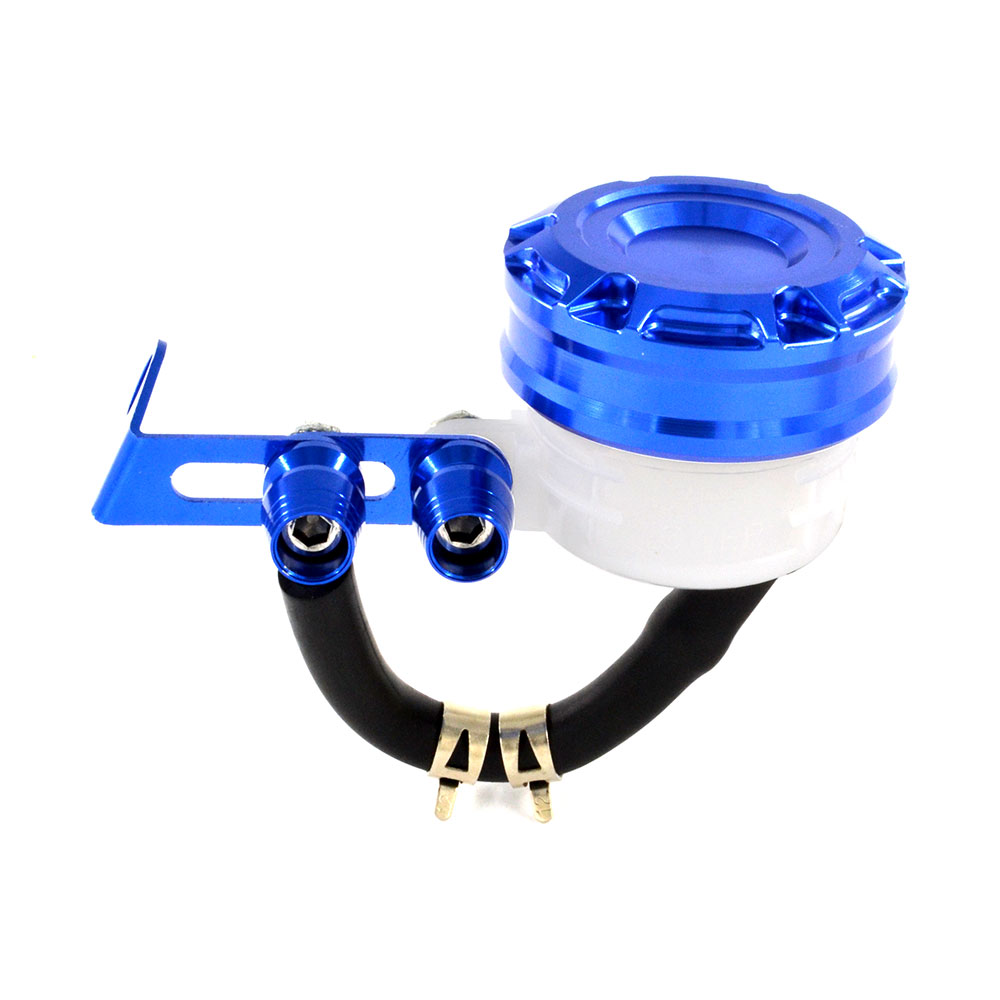 BJMOTO Universal CNC Motorcycle Fluid Oil Reservoir Front Brake Clutch Tank Oil Cup For Yamaha FJR FZ FZS FZR TZR YZF Fazer universal motorcycle brake fluid reservoir clutch tank oil fluid cup for mt 09 grips yamaha fz1 kawasaki z1000 honda steed bone