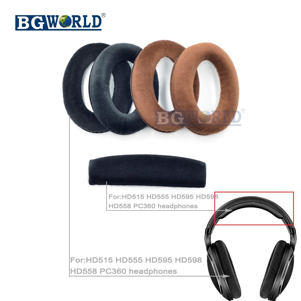 Cushion Ear Pads Velour For HD515 HD555 HD595 HD598 HD558 PC360 headphones