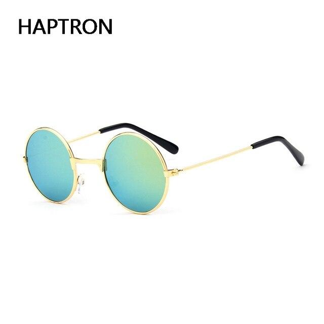 c7bb437139 HAPTRON retro niños gafas de sol niños niñas 2018 fiesta para niños gafas  de sol espejo