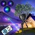 Red Green Blue 8 Patterns High Quality Landscape Lighting Remote Garden Home Decoration Projector Laser Lights Waterproof 12V