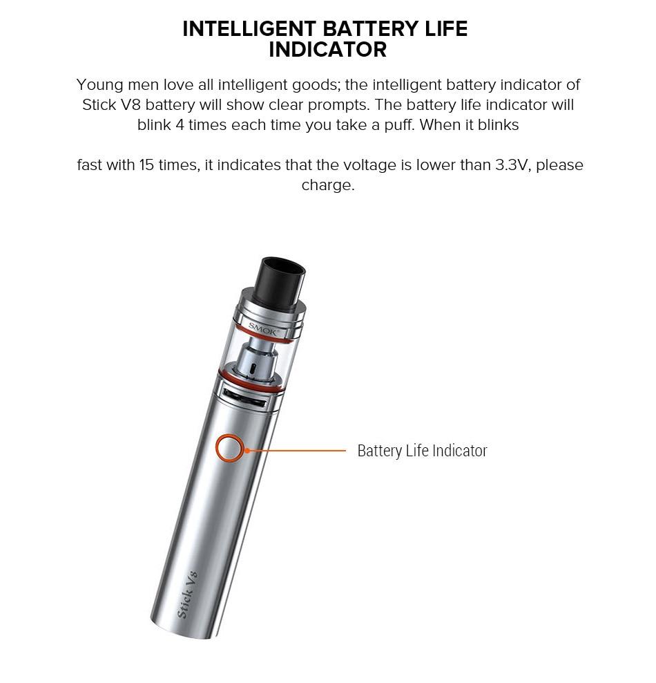 Original smok stick V8 Starter Kit vaporizador 3000 mAh e