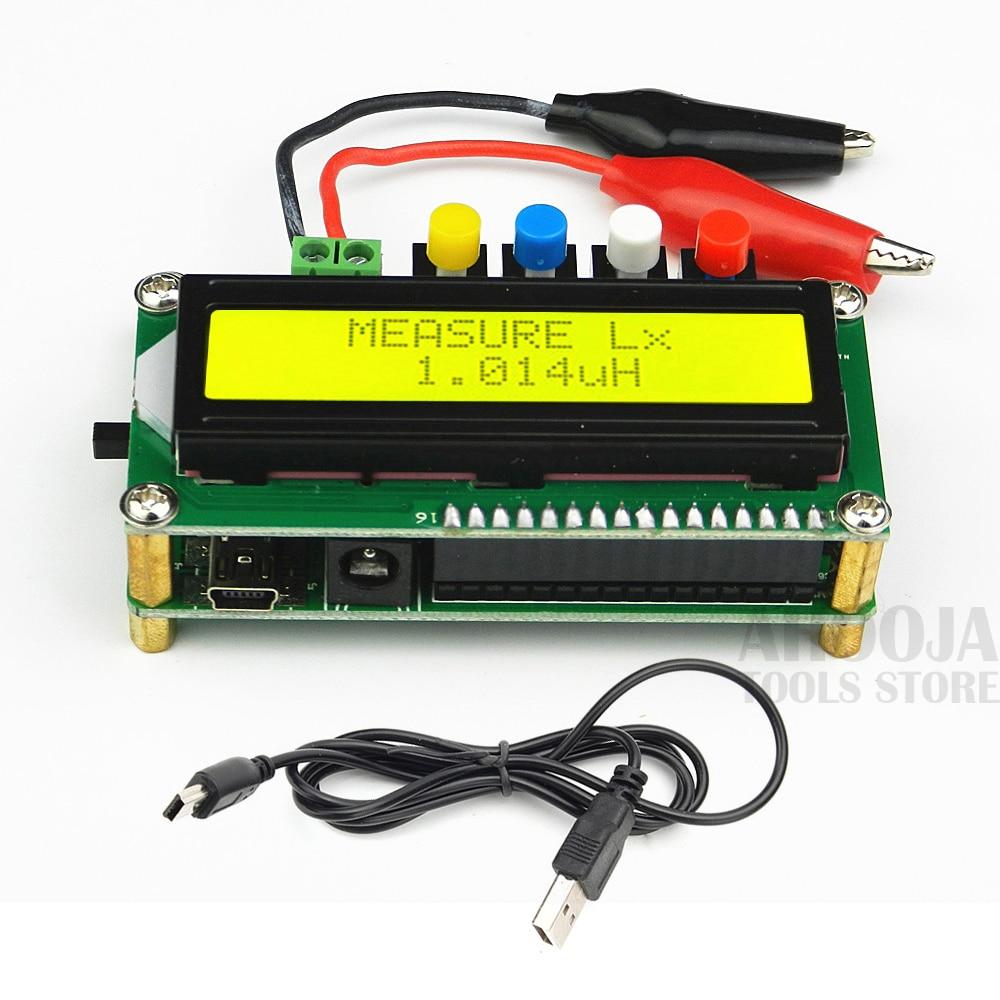 Многофункциональный цифровой ЖК-измеритель емкости