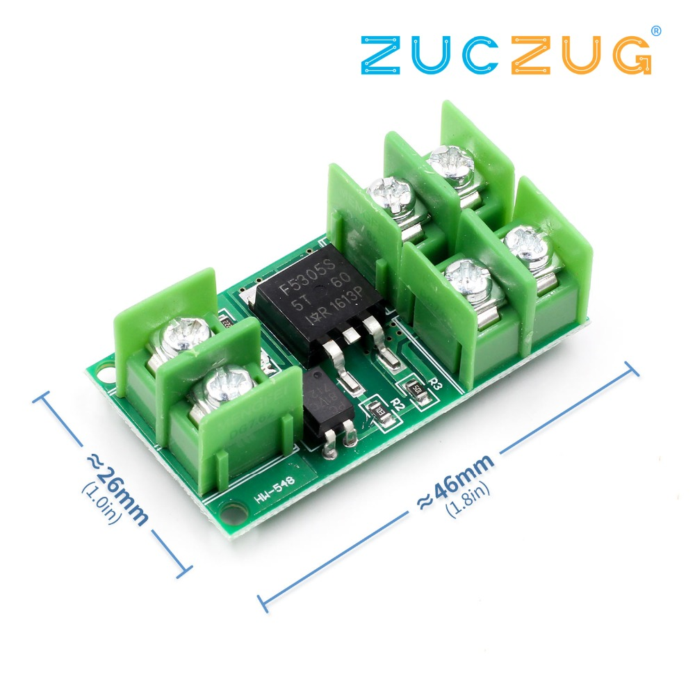Electronic Components & Supplies Honesty Arsmundi Dc 5v-36v Electronic Pulse Trigger Switch Control Panel Mos Fet Field Effect Module Driver For Led Motor Pump Diversified Latest Designs