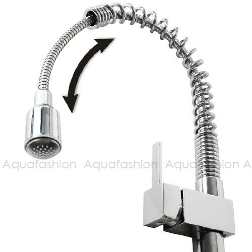 LED Kitchen Faucet Mixer Tap Sink Faucet  (5)