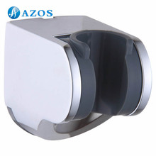 Bathroom Accessories Plastic ABS Handheld Showerhead Adjustable Bracket Holder Wall Mount Chrome Polished HSZ007