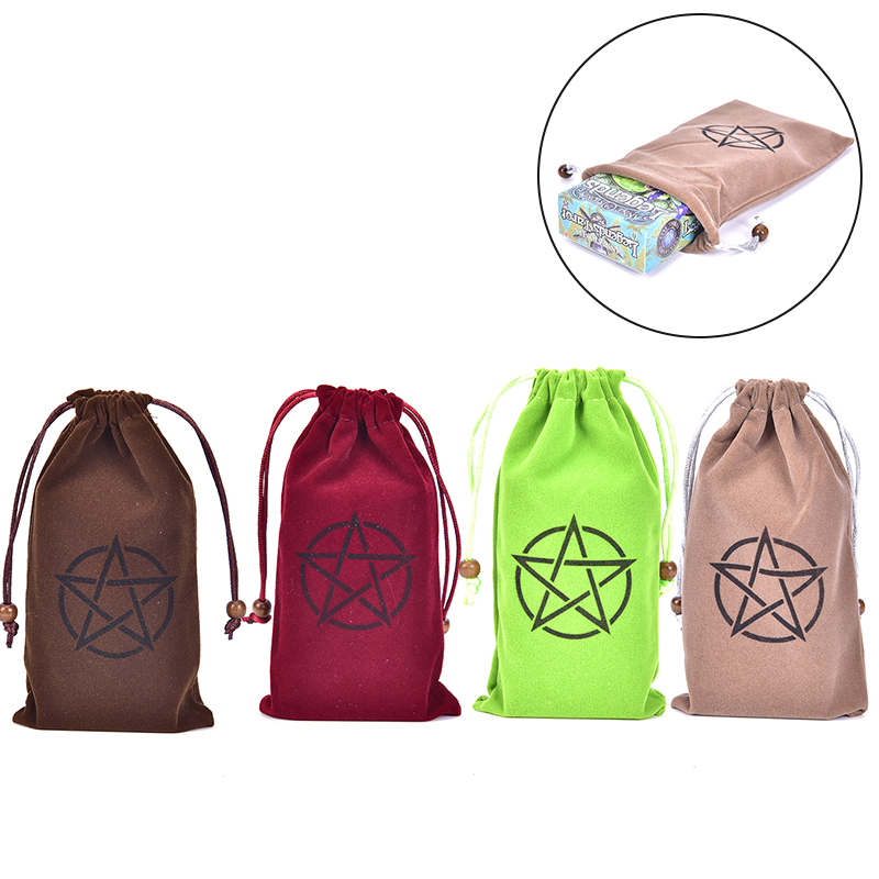 1pc Tarot Card Table Game  Survival Bracelets With Clasp Emergency Tool Table Game Tarot Card Storage Bag