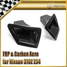 ЭПР Стайлинга Автомобилей Для Nissan 370Z Z34 FRP Стекловолокна Передний Бампер Воздуховод Набор На Складе