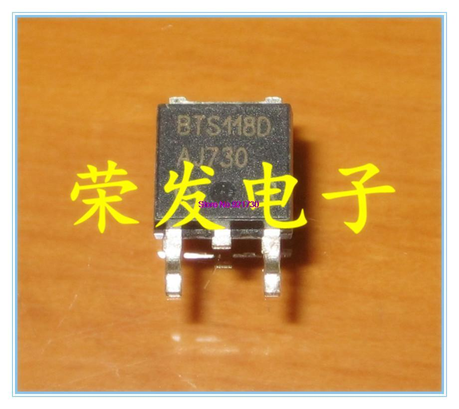 20pcs/lot BTS118D BTS118 TO-252 In Stock