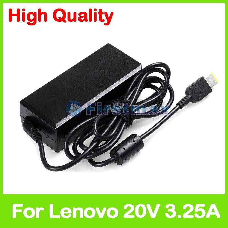 20V 3.25A Ноутбук ac адаптер питания зарядное устройство для Lenovo B50-80 B51-80 B70-80 E50-80 E51-80 G41-35 G51-35 G70-35 G70-70 G70-80