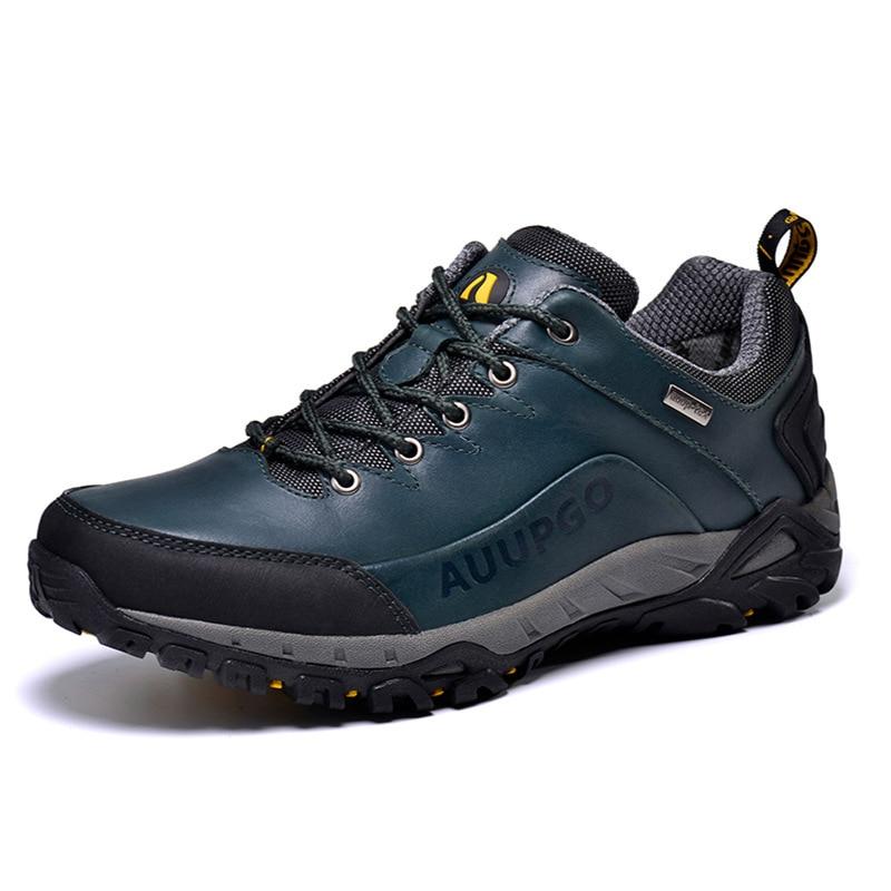 94bcfaf390f US $53.78 44% OFF|Outdoor Waterproof Hiking Shoes For Men Breathable Men  Women Walking Shoes Men Women Climbing Mountain Shoes Man Senderismo-in ...
