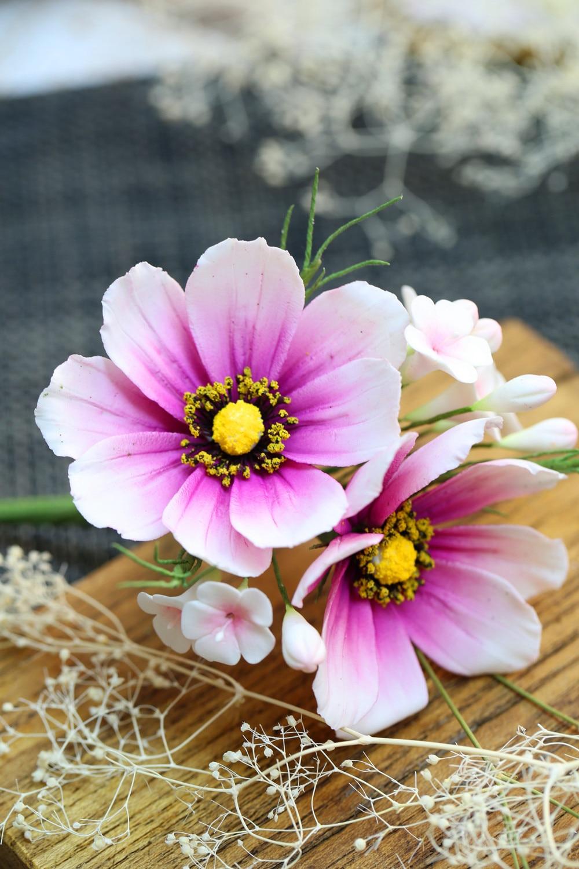 Daisy lule Petal Silicone Veiner & Cutter Petal Flower Cutter Fondant - Kuzhinë, ngrënie dhe bar - Foto 6