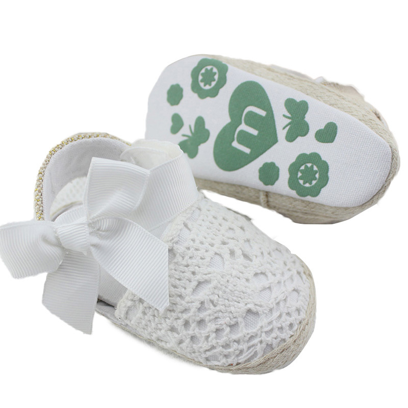 Baby Shoes Kid Knit Crocheted Summer Baby Girls Shoes Soft Sole First Walkers