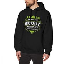 Boy Scout Hoodie Scout Leader Hoodies Outdoor Cotton Pullover Hoodie XXX  Winter Grey Popular Male Long a1ee4b10c