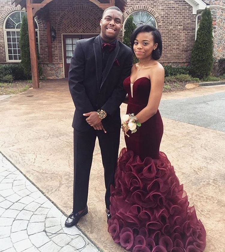 New African Vel... African Prom Dresses 2017