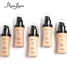 Professional Face Base Make Up Long Lasting Brighten Matte Mineral Whitening Liquid Base Foundation Makeup
