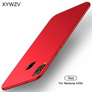 Image 3 - Para Samsung Galaxy A20e funda Silm de lujo ultrafina suave duro PC funda de teléfono para Samsung Galaxy A20e para Samsung A20e