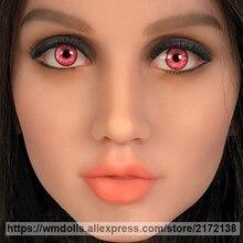 WMDOLL Garnet Eyes for Real Silicone Sex Dolls Lifelike Adult Love Doll