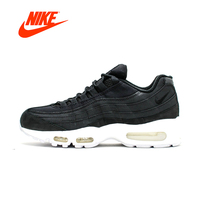 Original New Arrival Official NIKE Air Max 95 Stussy Men's Running Shoes Classic breathable shoes outdoor anti slip 834668 001