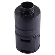 Dwcx 블랙 플라스틱 25mm 공기 흡입 필터 소음기 webasto eberspacher 자동 공기 디젤 주차 히터에 적합