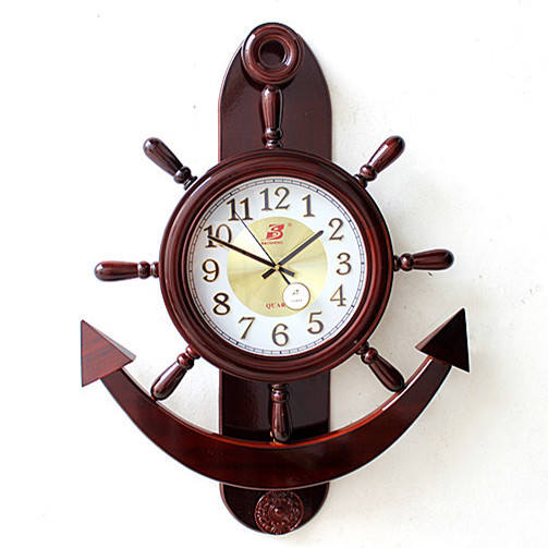 Shipping Mediterranean Style Wood Knot Bell Clock Super Seaman Helmsman Room Wooden Clocks Home Furnishing Decorative Pendant Clock Stamp Pendant Pearpendant Jewellry Aliexpress