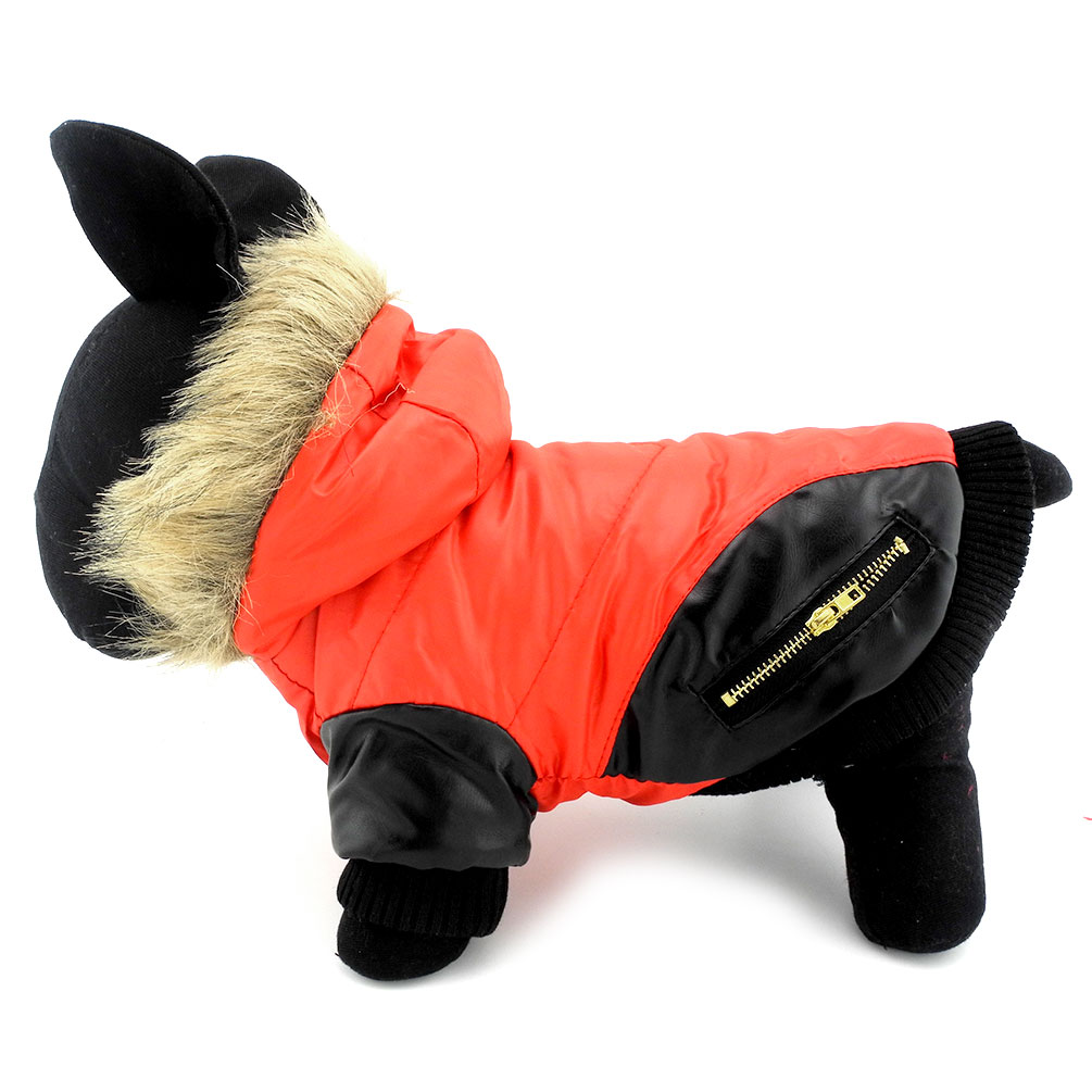 2017 Small Dog Clothes for   Female Female Male Bomber ...