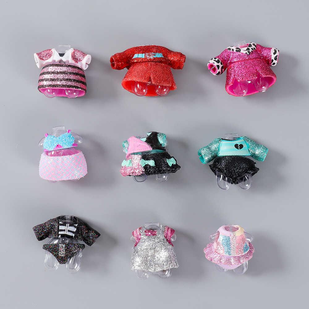 1 шт. оригинальная серия lol 3,4 5 девочек самодельные аксессуары для кукол Кукла платье различная Одежда Игрушки для маленьких детей