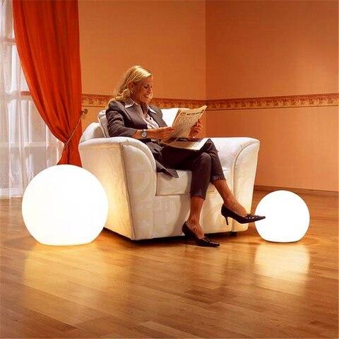 bola pvc luzes de assoalho quarto cabeceira remoto decoracao da casa em pe lampada quarto