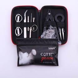 XFKM X9 мини Vape DIY сумка для инструмента щипцы-пинцет провод комплект нагревателей катушки джиг обмотки для упаковки аксессуары для