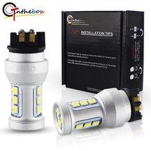 Gtinthebox xenon branco can-bus pw24w led pw16w led para 2014-2017 bmw série 4 420i 428i 435i m4 backup reverso lâmpadas 12v