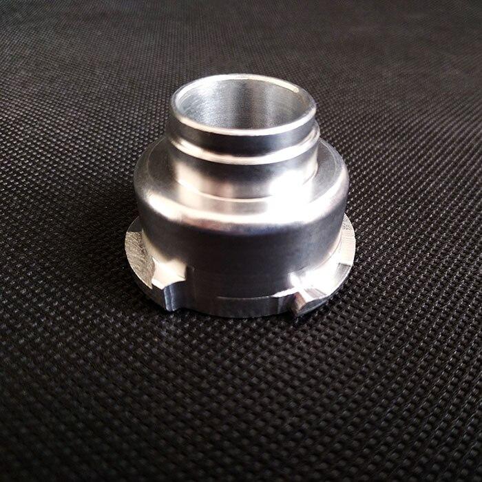 Заводской выпуск алюминиевый радиатор наполнителя шеи ЧПУ Заготовка алюминиевая крышка 2 шт
