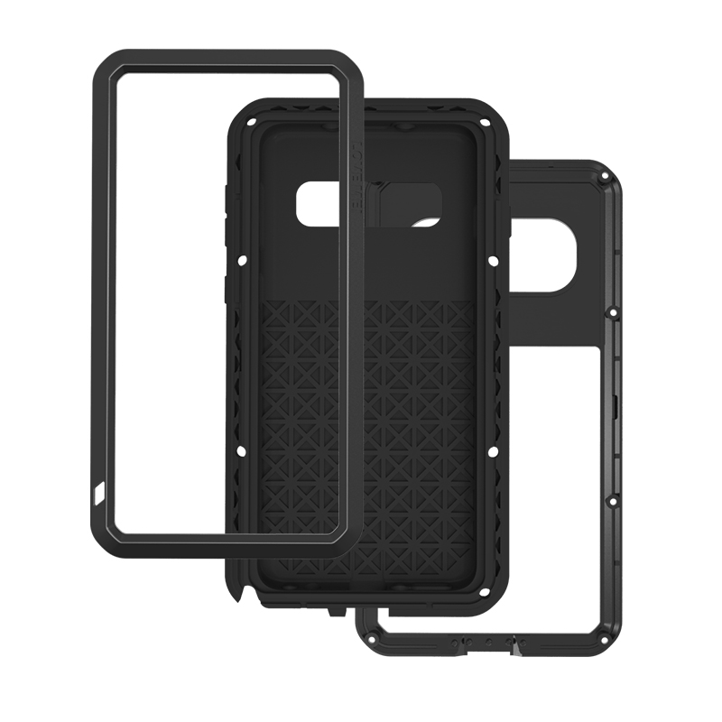 Armor 360 Full Protect For Samsung Galaxy S10 S10 Plus S10 E Cover Aluminum Metal+Silicon Phone Case Shockproof Cases Coque