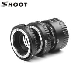 SHOOT Auto Focus Macro Extension Tube Ring for Nikon D5600 D5500 D5300 D7200 D7100 D3400 D3300 D3200 D3100 D610 D90 Accessories