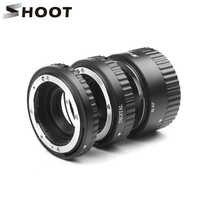 Strzelać automatyczne ustawianie ostrości pierścienie pośrednie makro pierścień dla Nikon D5600 D5500 D5300 D7200 D7100 D3400 D3300 D3200 D3100 D610 D90 akcesoria