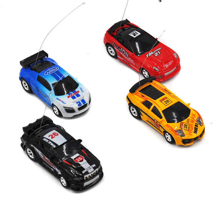 Remote Control Coke Car toys High Speed Truck Mini pop-top cars RC Car 4 colors random delivery Electronic kids boy toys 2