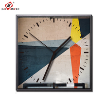 Simple Street Art Canvas Poster And Prints With Clock Home Decor Abstract Painting Supplier Wall Drop Shipping