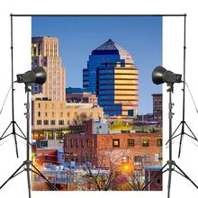 150x220cm Night City Photography Background North Carolina Durham City Backdrop Studio Props Wall District Photography Backdrop стоимость
