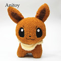 Anime Cartoon Monsters Eevee 23cm Plush Dolls Soft Stuffed Animal Toys Kid's Gift Children AP0348