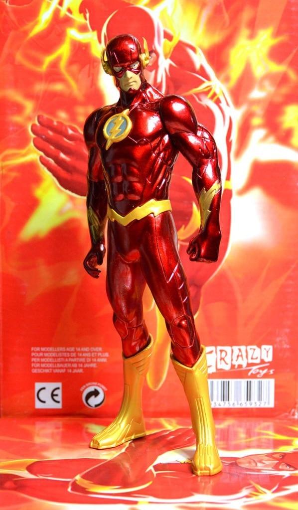 18CM PVC Super Hero Justice League Flash Barry Allen Action Figure - Խաղային արձանիկներ - Լուսանկար 2
