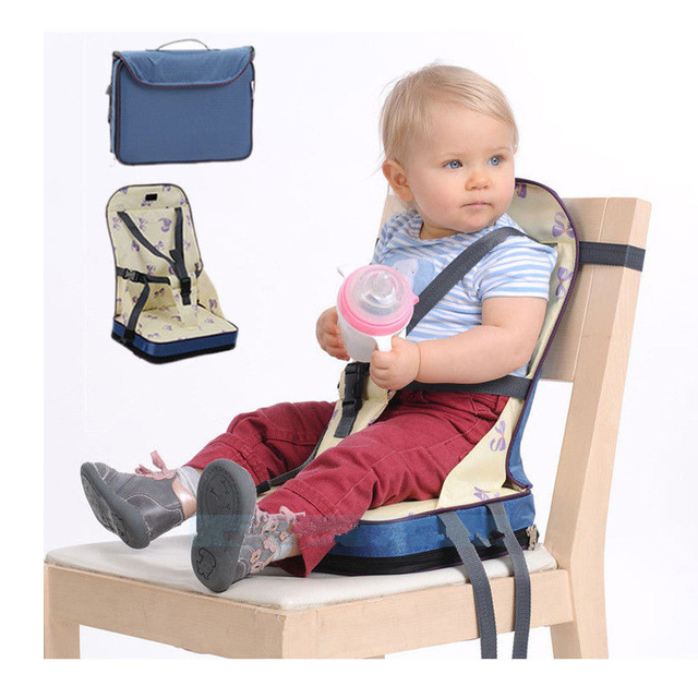 Baby Learn Sitting Stuffed Toys Toddler Travel Dining Feeding High Chair Portable Foldable Booster Safe Seat