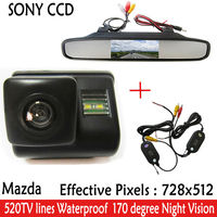 CCD Car Rear View Camera Car Monitor With 4 3 Inch TFT LCD Monitor Parking Assistance