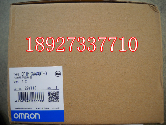 [ZOB] New original omron Omron programmable controller relay CP1H-XA40DT-D [zob] 100% new original omron omron proximity switch e2e x10d1 n 2m
