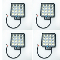 4pcs 4 2 Inch 48W LED Work Light For Indicators Motorcycle Driving Offroad Boat Car Tractor