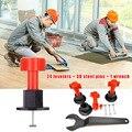 Système de nivellement de carreaux Anti-Lippage réutilisable outil de localisation mur de sol en céramique QJS Shop