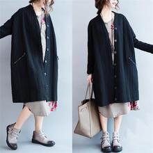 2016 новый стиль куртка женщин куртки долго с карманный однобортный толстая хлопчатобумажная ткань плюс размер XL-4XL
