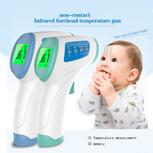 Baby Care Infrared Electronic Digital Thermometer Gun Non-Contact IR Forehead infant Ear Temperature Measurement Termometro