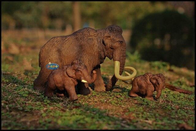 mammut giocattolo  Giocattolo caldo di marca simulazione modello animale ice age mammut ...