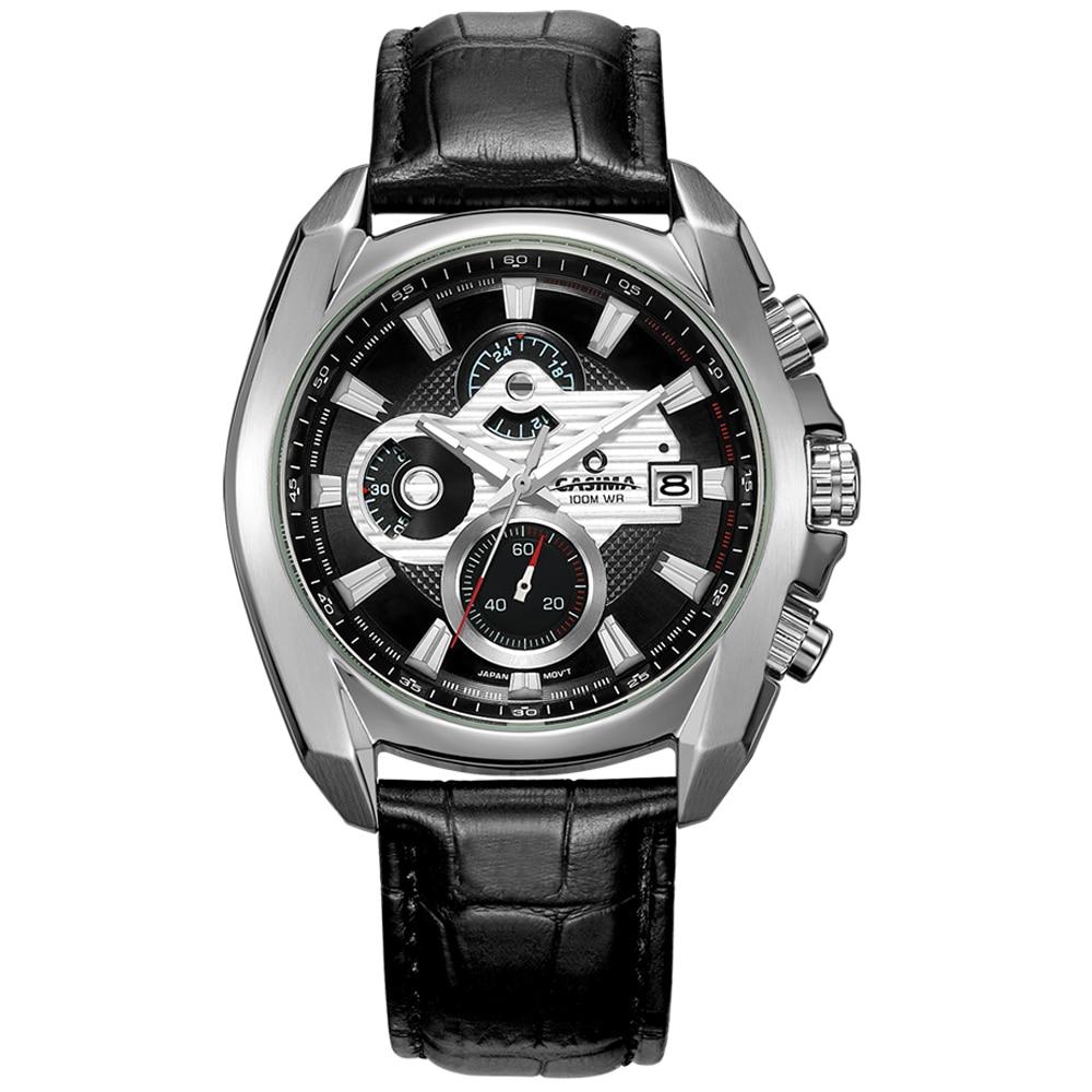 Luxury brand sports watches men quartz wst watch Fashion luminous Relogio Masculino waterproof 100m CASIMA 8884