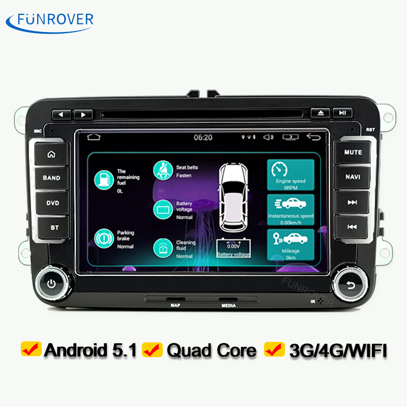 buy autoradio car cd dvd player stereo navi 2din for vw passat b6 golf 5 polo. Black Bedroom Furniture Sets. Home Design Ideas